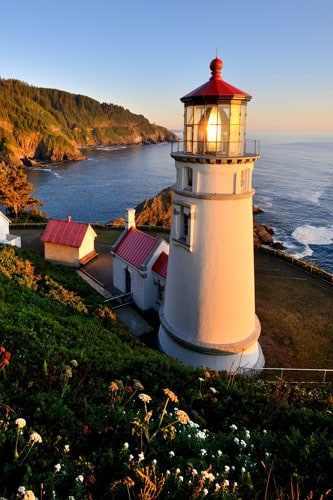 Lighthouses - West Coast
