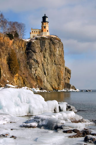 Lighthouses - Winter