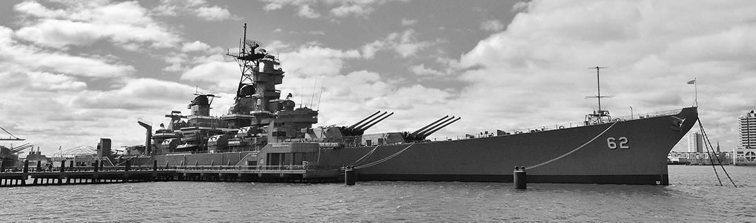 Battleship New Jersey Photo Shoot
