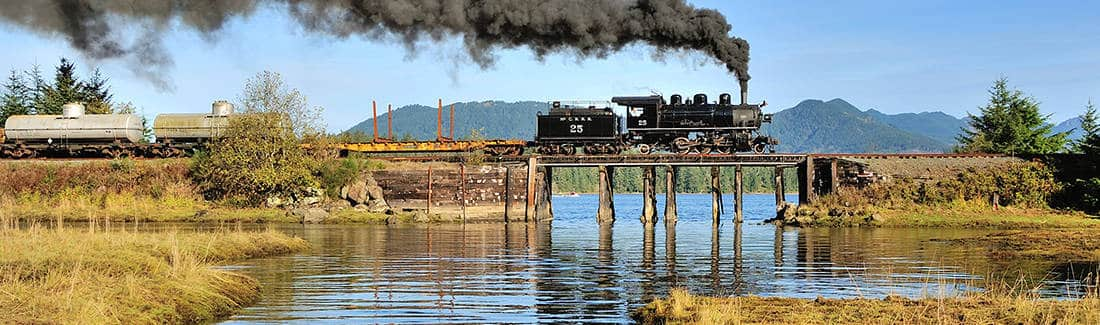 Oregon Steam Charters