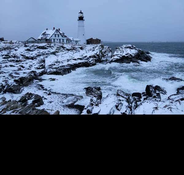 Maine Lighthouses January 2020