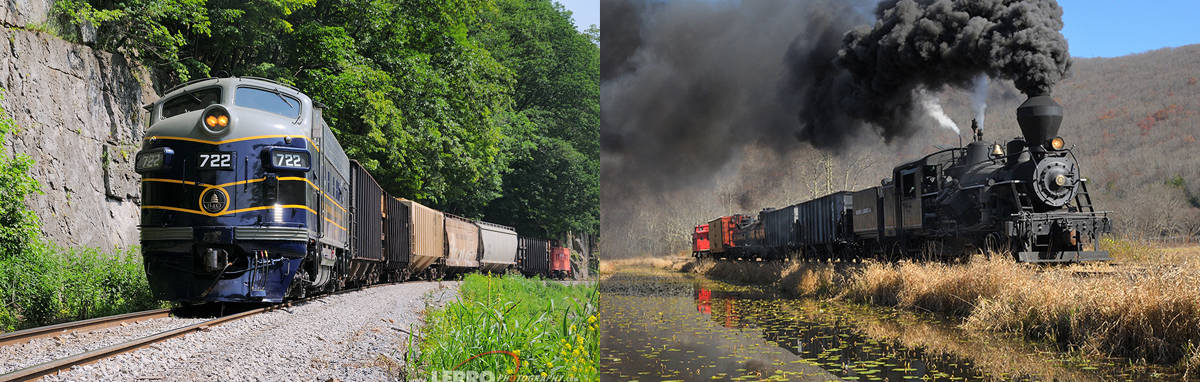 West Virginia Railroad Photo Charters