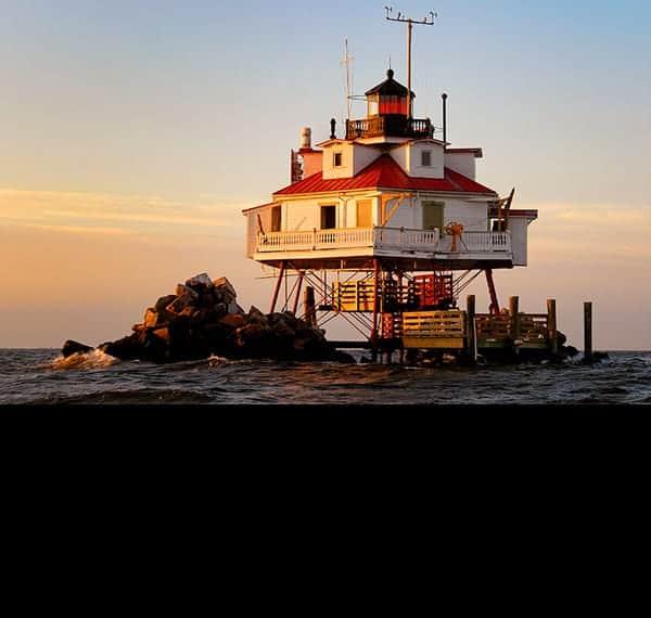 Chesapeake Bay Lighthouses August 2021